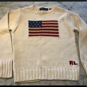 Like new Polo Ralph Lauren little boys sweater